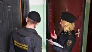 арест квартиры приставами